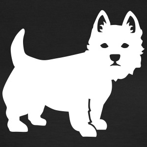 Westie T-Shirts - Frauen T-Shirt