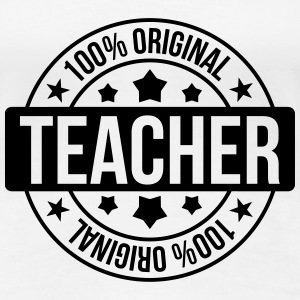 School / Teacher T-shirts - Dame premium T-shirt