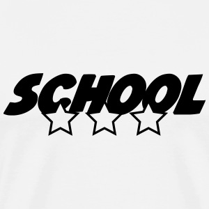 School T-Shirts - Men's Premium T-Shirt