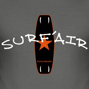 surf air board_vec_3 dk T-shirts - Herre Slim Fit T-Shirt