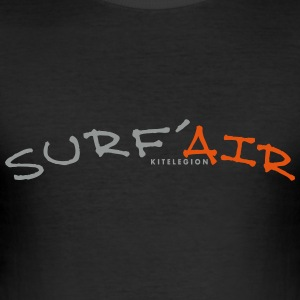 surf air_vec_3 en T-Shirts - Men's Slim Fit T-Shirt
