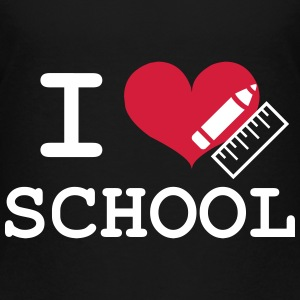I Love School Shirts - Kids' Premium T-Shirt
