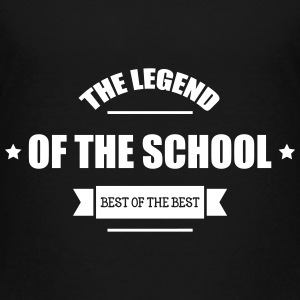 The Legend of the School Shirts - Teenager Premium T-shirt