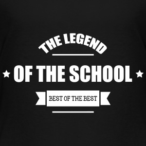 The Legend of the School T-shirts - Børne premium T-shirt