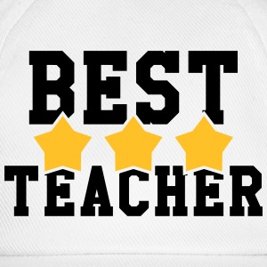 Best Teacher Caps & Mützen - Baseballkappe