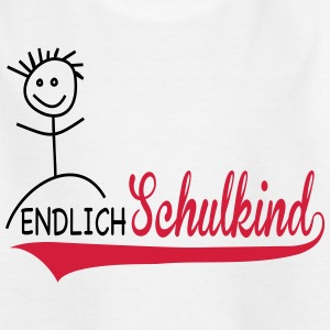 Schulkind 1.Klasse - Teenager T-Shirt