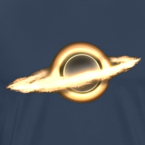 Black Hole, Infinity, Outer Space, Science Fiction T-skjorter - Premium T-skjorte for menn