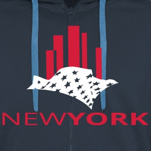 newyork Hoodies & Sweatshirts - Men's Premium Hooded Jacket