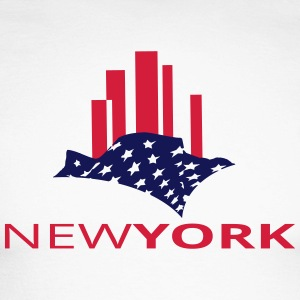 newyork Long sleeve shirts - Men's Long Sleeve Baseball T-Shirt