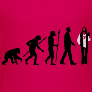 evolution_of_man_hippie_112014_b_2c T-Shirts - Teenager Premium T-Shirt