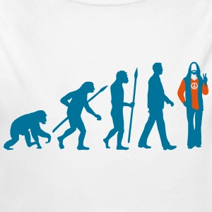 evolution_of_man_hippie_112014_b_2c Pullover & Hoodies - Baby Bio-Langarm-Body