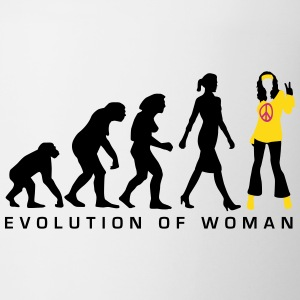 evolution_of_woman_hippie_112014_a_3c Tassen & Zubehör - Tasse