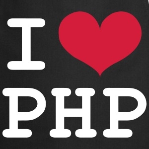 I Love PHP [Developer / Geek] Forklæder - Forklæde