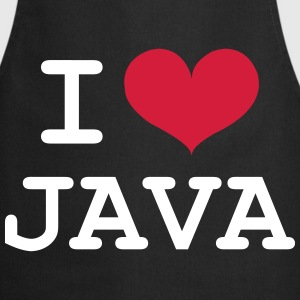 I Love Java [Developer / Geek] Kookschorten - Keukenschort