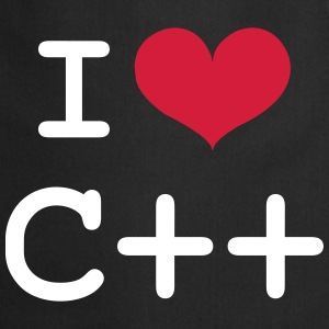 I Love C++ [Developer / Geek] Delantales - Delantal de cocina
