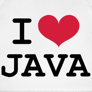 I Love Java [Developer / Geek] Kepsar & mössor - Basebollkeps