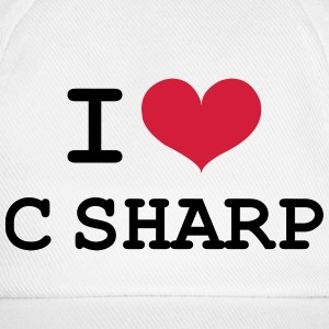 I Love C Sharp [Developer / Geek] Caps & Hats - Baseball Cap