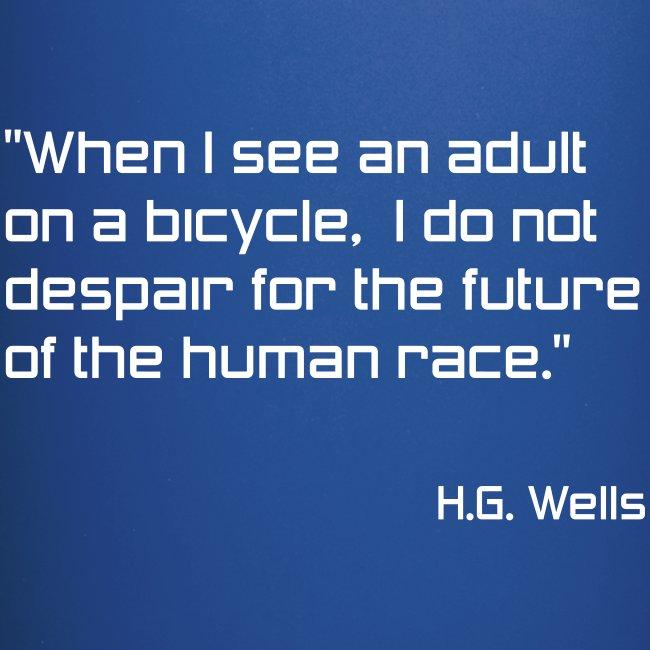 H.G. Wells, Hope for Humanity Mug