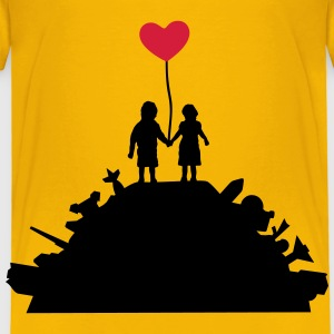 Kids - War and Peace - Love T-Shirts - Kinderen Premium T-shirt