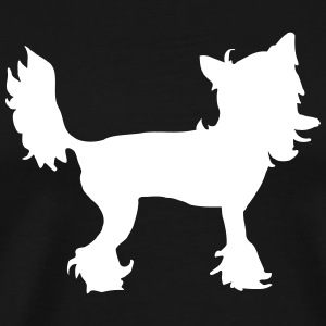 Chinese Crested T-Shirts - Männer Premium T-Shirt