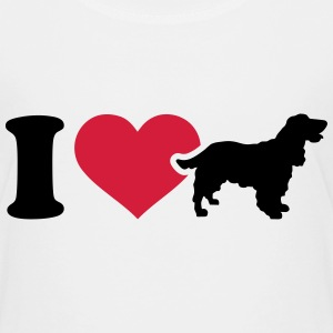I love Cocker Spaniel T-Shirts - Kinder Premium T-Shirt