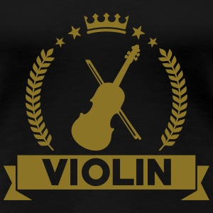 Violin T-Shirts - Frauen Premium T-Shirt