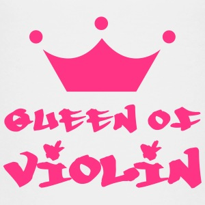 Queen of Violin Skjorter - Premium T-skjorte for tenåringer