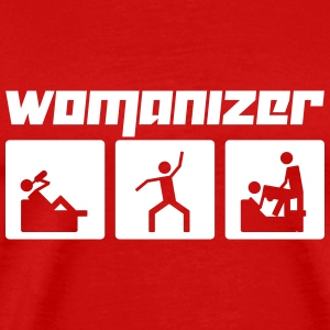 Womanizer (Vector) - Männer Premium T-Shirt