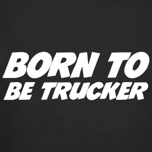 Born to be Trucker  Sweaters - Baby bio-rompertje met lange mouwen
