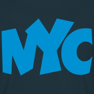 NYC T-Shirt blue - Men's T-Shirt