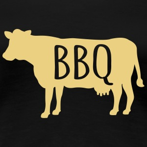Barbecue T-shirts - Dame premium T-shirt