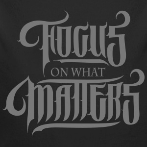 Focus On What Matters Sweats - Body bébé bio manches longues