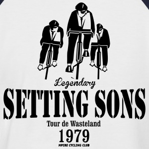 LIMITED EDITION SETTING SONS CYCLING CLUB - Men's Baseball T-Shirt