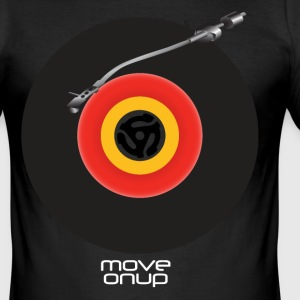 Vinyl Turntable T-Shirts - Men's Slim Fit T-Shirt