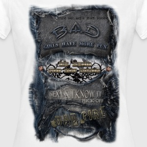 Bad Girl T-Shirts - Frauen T-Shirt