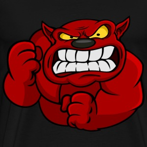 Red Orc Mascot T-Shirts - Men's Premium T-Shirt