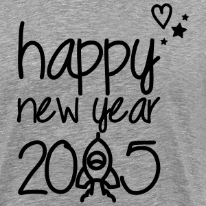 Happy new year 2015 T-Shirts - Männer Premium T-Shirt