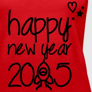 Happy new year 2015 Tops - Women's Premium Tank Top