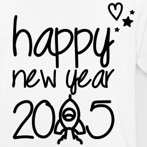 Happy new year 2015 T-shirts - Herre T-shirt svedtransporterende