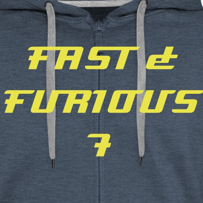 Sweat a capuche rouge FAST & FURIOUS 7, swagg unique