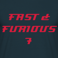Design ~ T-shirt FAST & FURIOUS 7