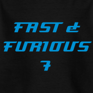 Design ~ T-shirt enfant FAST & FURIOUS 7