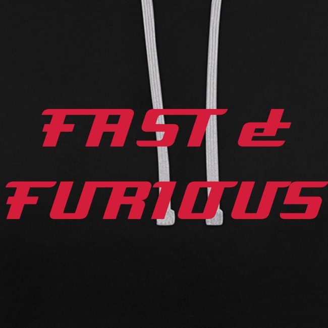 Sweat a capuche FAST & FURIOUS