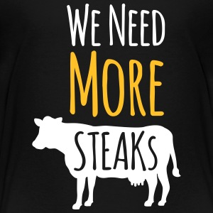 Steak Tee shirts - T-shirt Premium Ado
