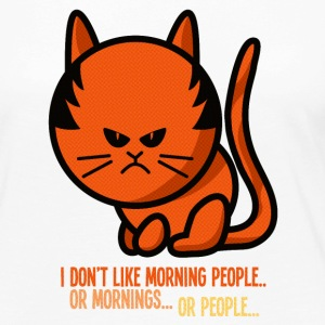 Not a morning person / I don't like morning people Long Sleeve Shirts - Women's Premium Longsleeve Shirt