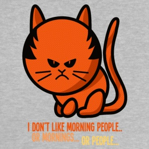 Not a morning person / I don't like morning people Skjorter - Baby-T-skjorte