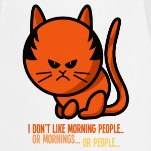 Not a morning person / I don't like morning people Delantales - Delantal de cocina