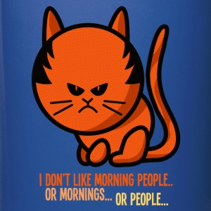 Not a morning person / I don't like morning people Mugs & Drinkware - Full Colour Mug