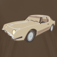 Motiv ~ Gold Studebaker Avanti illustration