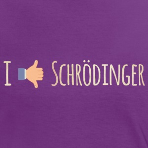 I Like / Dislike Schrödinger - Funny Physics Geek T-Shirts - Women's Ringer T-Shirt